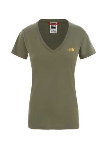 The North Face Simple Dome Kadın T-Shirt Yeşil Yeşil